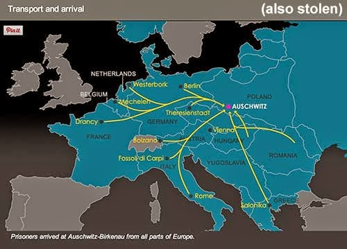 Stole this image from these guys: http://www.theholocaustexplained.org/ks3/the-final-solution/auschwitz-birkenau/transport-and-arrival/#.VAwscYC1ZjB